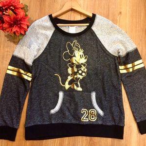 NWT Disney Parks Minnie Mouse Sweatshirt Medium